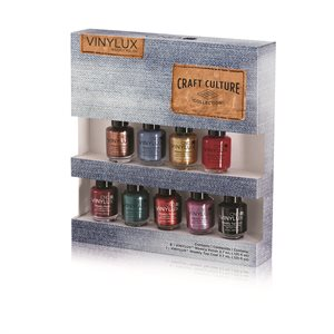CND Vinlyx Craft Culture Pinkies Collection 8 couleurs & Top -