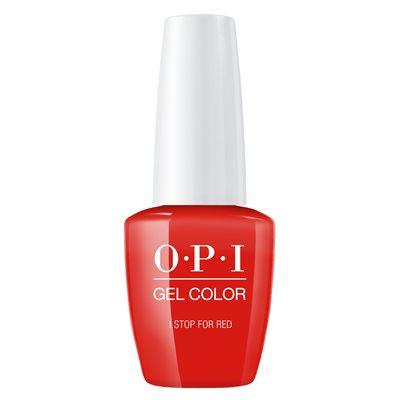 Opi Gel Color I Stop For Red