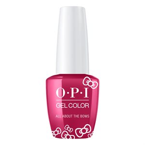 OPI Gel Color All About the Bows 15ml Hello Kitty -