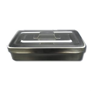 Square Instrument Dipper Bowl Wide 4'' Lengh 8'' Height 1.75''