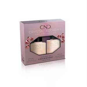 CND ® SHELLAC & VINYLUX Holiday Lovely Quartz Matching Duo -