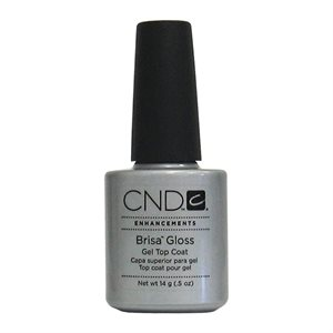 CND BRISA Gloss Gel Top Coat Clair 0.5 oz