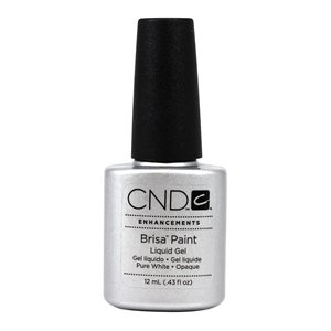 CND BRISA PAINT PURE WHITE OPAQUE .43 oz (12ml)