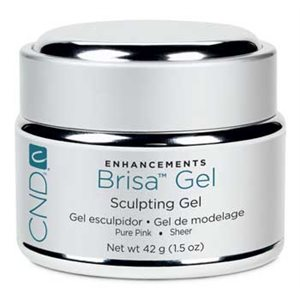 CND BRISA GEL PURE PINK SHEER 1.5oz +