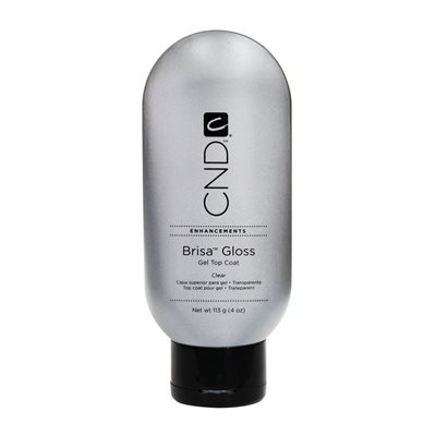 CND BRISA Gloss Gel Top Coat Clair 4.0 oz -