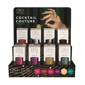 CND Shellac POP Display Collection Cocktail Couture -