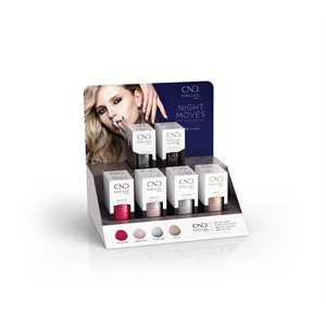 CND Shellac Pop Display Collection Night Moves