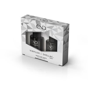 CND Shellac & Vinylux Matte Top Coat Duo Pack