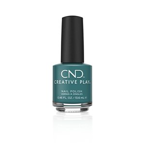 CND Creative Play Vernis # 432 Head Over Teal -