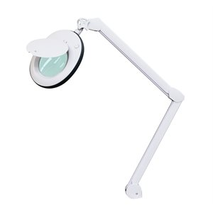 LED Magnifying Lamp 3 diopters with rubber outline