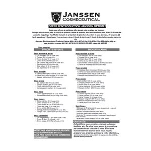 Introduction Janssen Platine