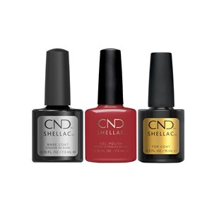 KIT CND Shellac Top + Base + Wildfire Kit