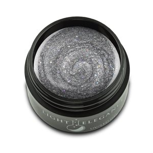 Light Elegance  Italian Ice  GLITTER Color Gel 17 ml