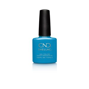 Shellac UV Polish Digi-Teal 7.3 ML Art Vandal Collection