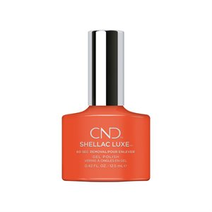 CND Shellac LUXE ELECTRIC ORANGE 12.5 ml # 112