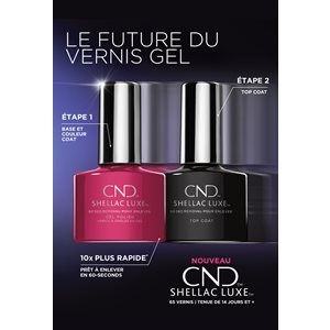 CND Shellac Luxe Poster